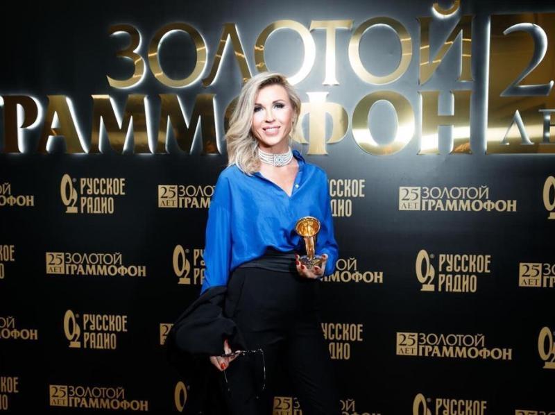 """Лика Стар на премии """"Золотой граммофон"""" // Фото: личный архив звезды, в статье: Global Look Press"""