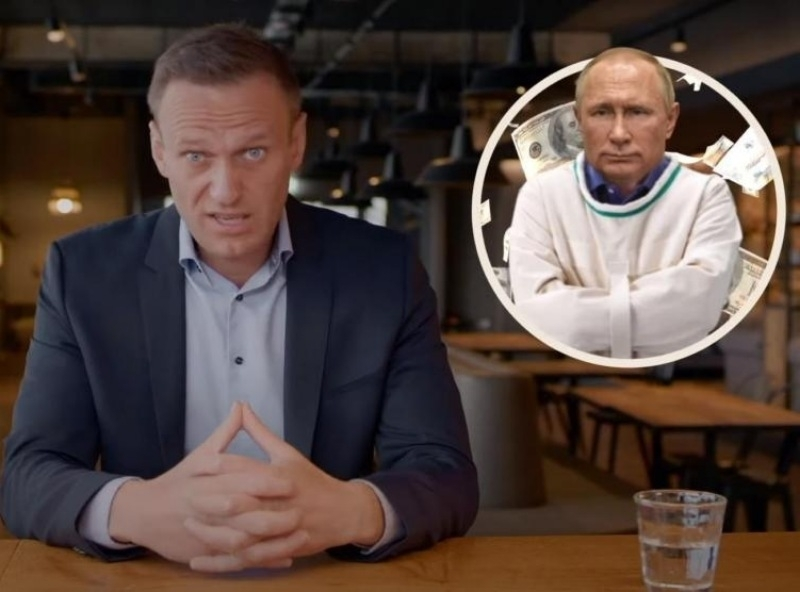 """Кадр из фильма Алексея Навального """"Дворец для Путина. История самой большой взятки""""//фото: скриншот YouTube"""