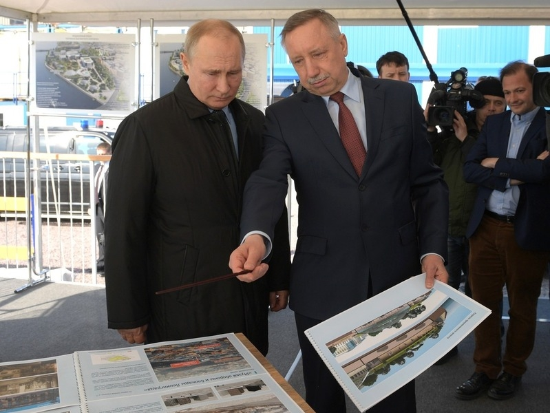 Владимир Путин и Александр Беглов // Фото: Global Look Press