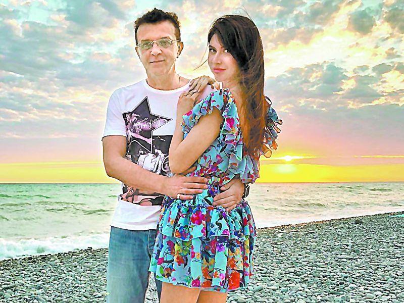 С новой избранницей Ольгой // фото из инстаграма певца
