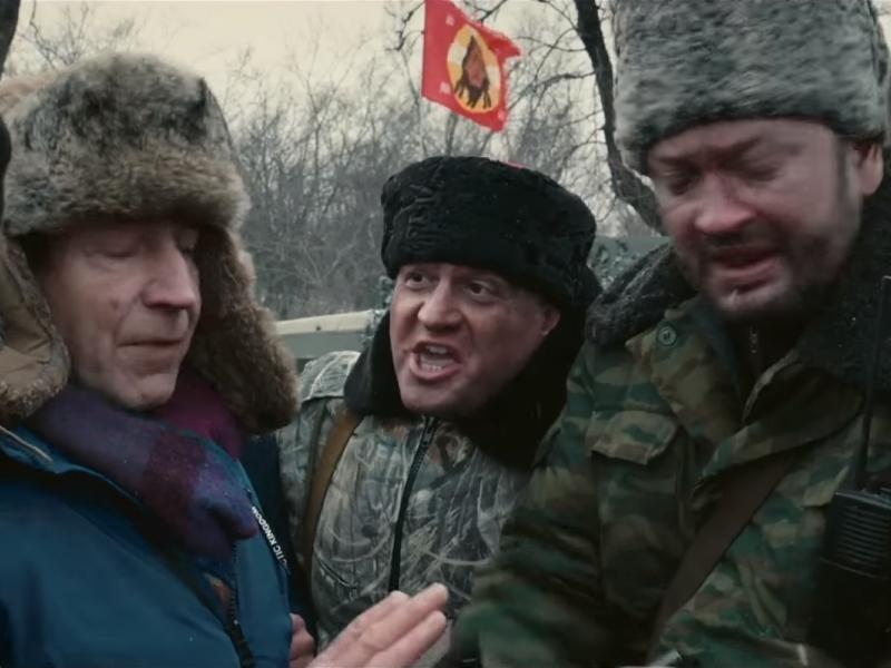 """кадр из трейлера фильма """"Донбасс"""""""