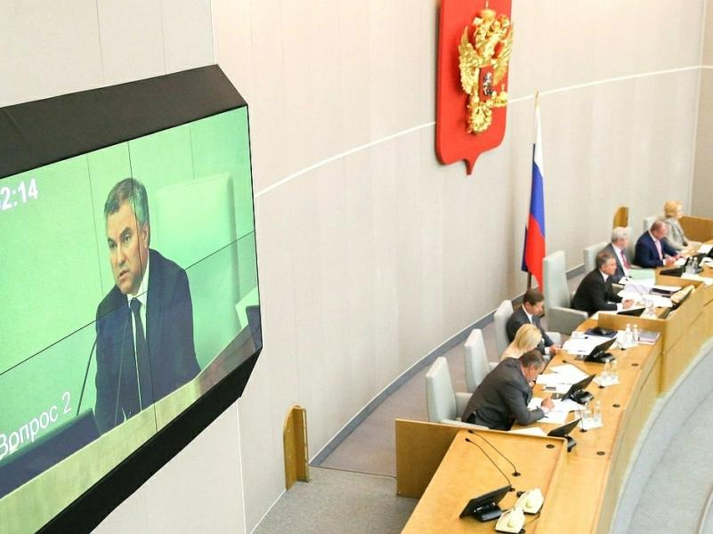 фото: Russian State Duma Photo Service / Global Look Press