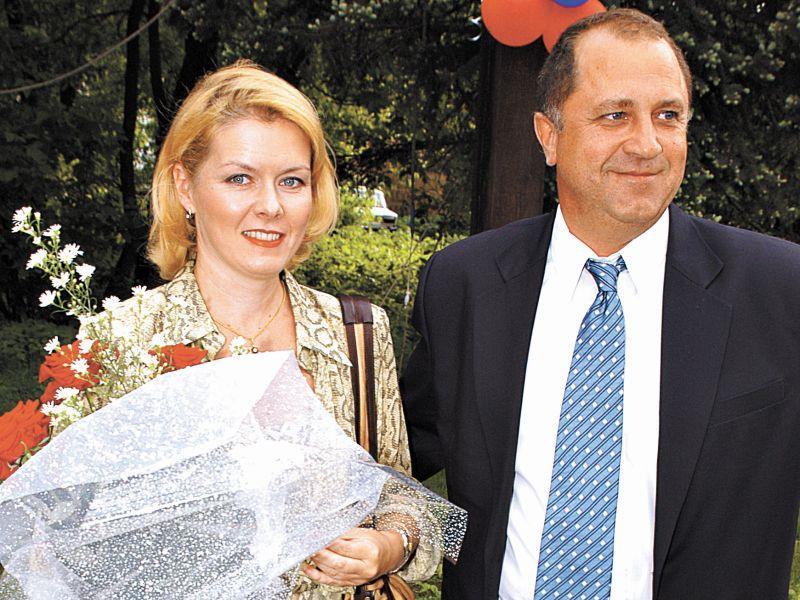 Владимир Стержаков с женой // фото: Сергей Иванов