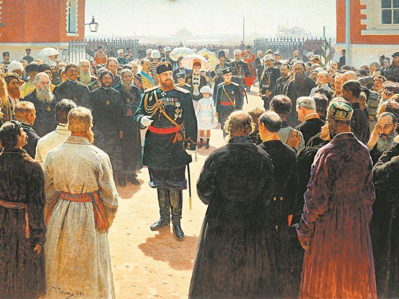Александр III на картине Ильи Репина