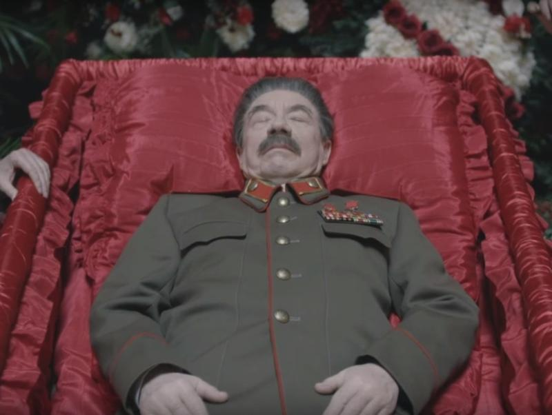 """Кадр из фильма """"Смерть Сталина"""" // Фото: скриншот с YouTube"""