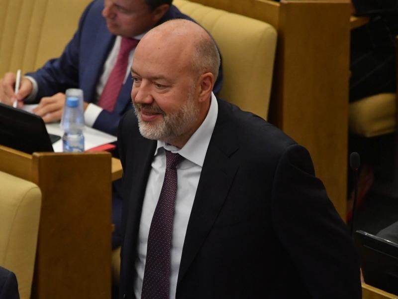 Павел Крашенинников в зале заседаний Госдумы // фото: Global Look Press