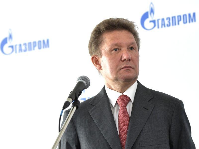 Алексей Миллер // фото: Kremlin Pool / Global Look Press