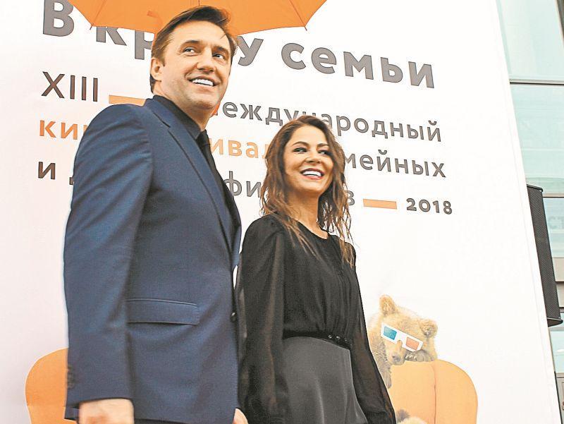 Владимир Вдовиченков и Елена Лядова на открытии фестиваля // фото автора