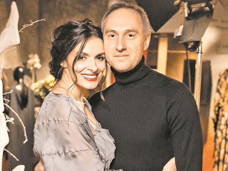 Надежда Грановская с супругом // фото: пресс-служба Надежды Грановской