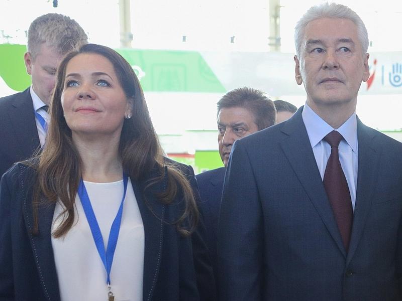 Где Собянин, там и Ракова // фото: Global Look Press