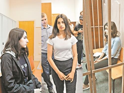 Мария, Ангелина и Кристина // фото: агентство «Москва»