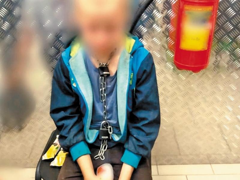Как часто мальчика сажали на цепь – пока неизвестно