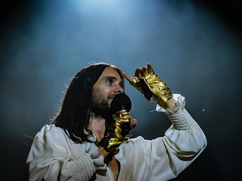 30 Seconds to Mars выступят на фестивале Park Live // Фото: Giuseppe Maffia / Global Look Press