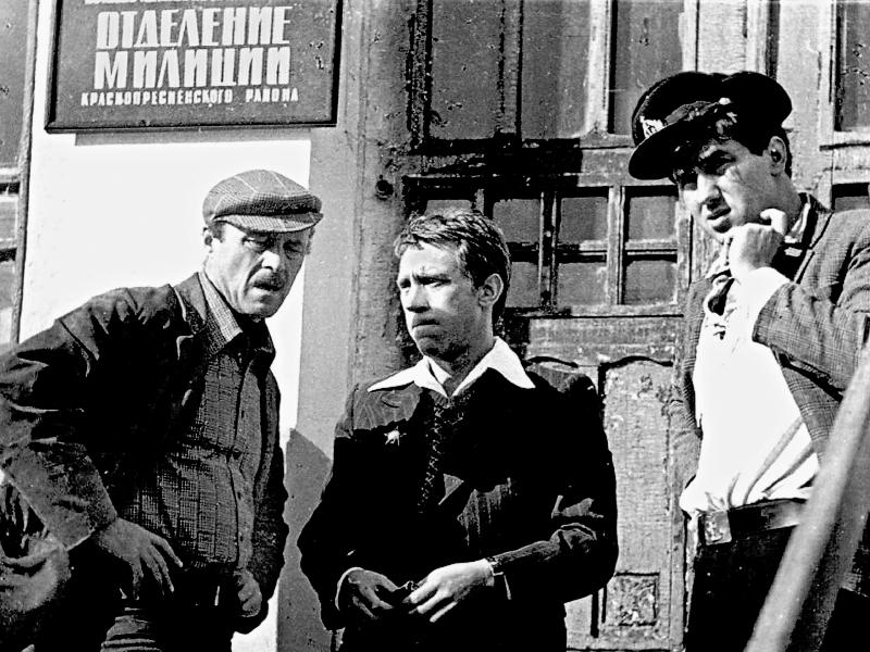 Станислав Говорухин, Владимир Высоцкий и Стас Садальский // фото в статье: Global Look Press