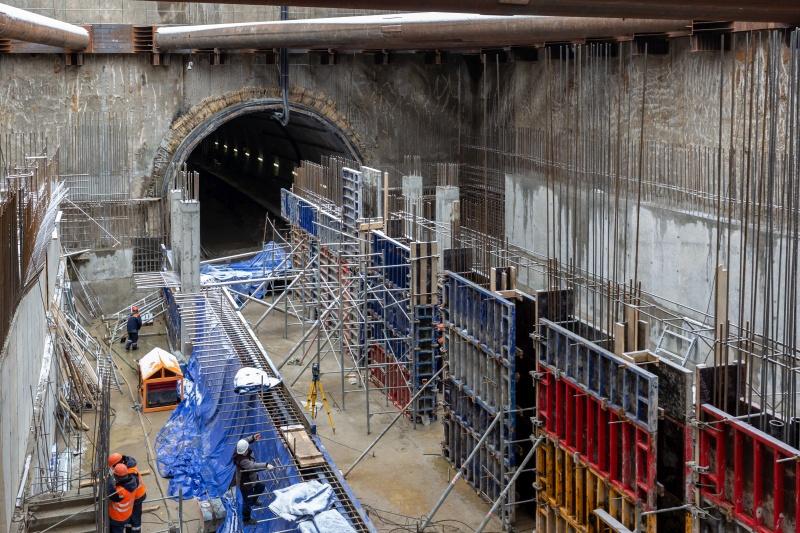 Тоннель метро, который прокладывает компания Руслана Сулимовича Байсарова