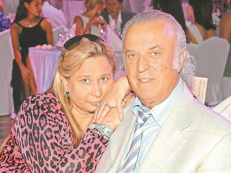 Илья Резник с супругой // фото: Global Look Press