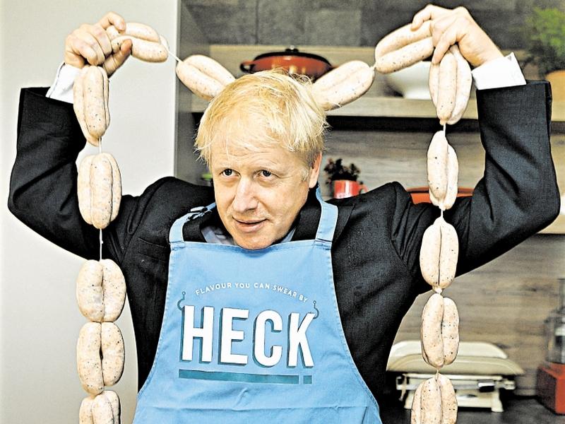 Борис Джонсон // фото: Global Look Press