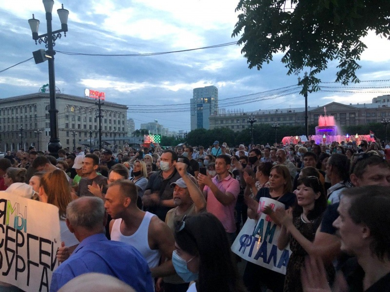 Четкий украинский след: иностранцы пытаются удержать на плаву протесты в Хабаровске