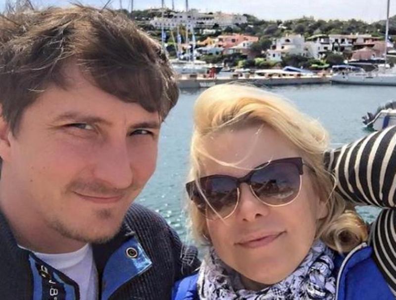 Яна Поплавская с гражданским мужем Евгением // Фото в статье: Instagram