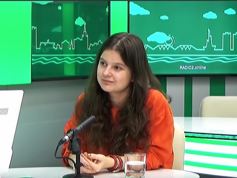 Юлия Цветкова // Скриншот с видео на YouTube