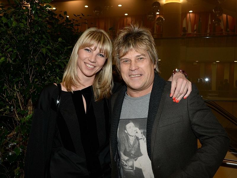 Алексей Глызин с женой // фото: Global Look Press