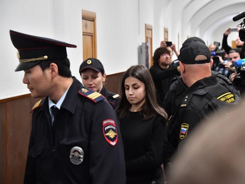 Одно из слушаний по делу сестер Хачатурян // Фото: Global Look Press