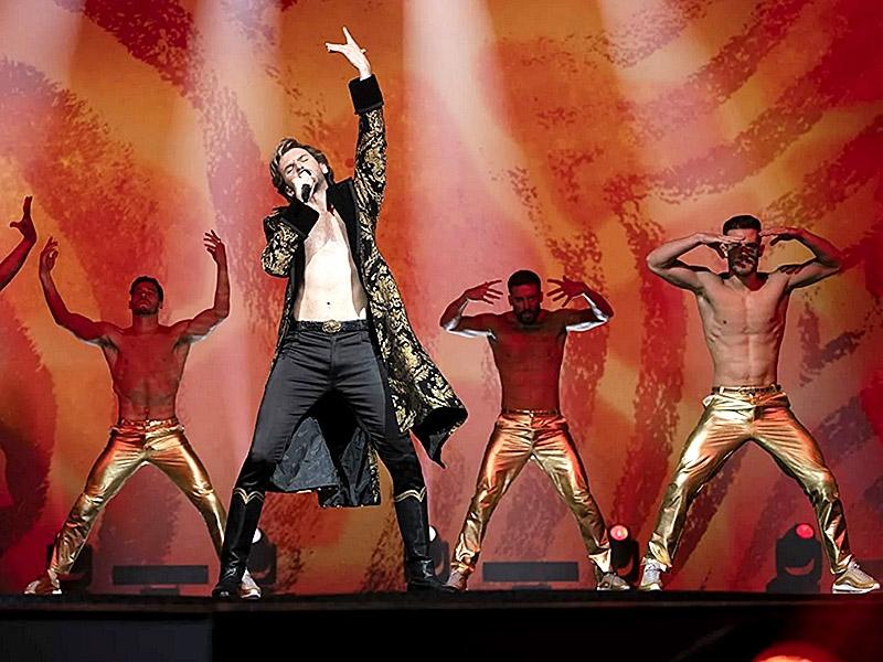 Дэн Стивенс / фото: кадр из фильма «Евровидение: История огненной саги»