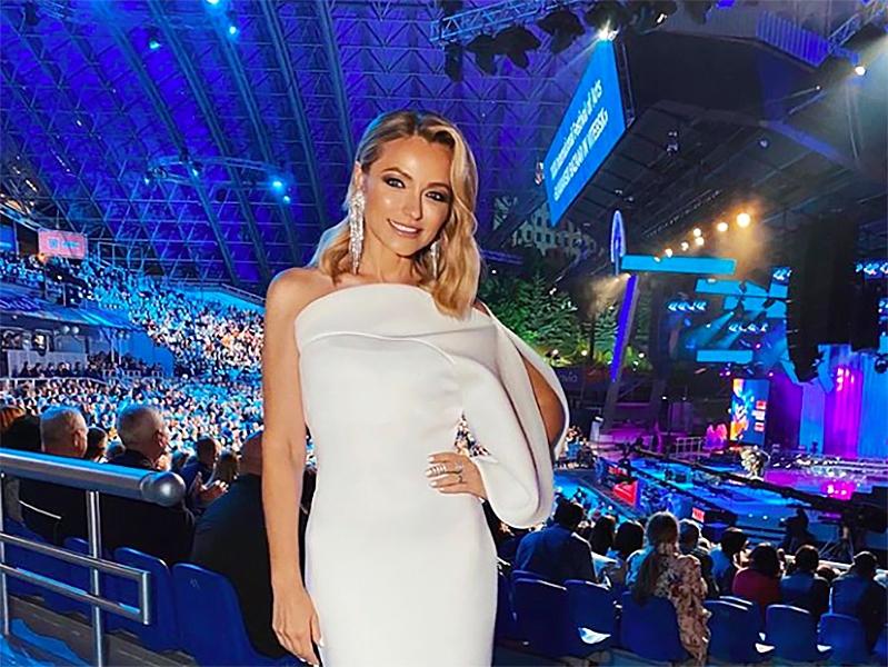 Инна Маликова на церемонии открытия «Славянского базара в Витебске» / фото: Instagram
