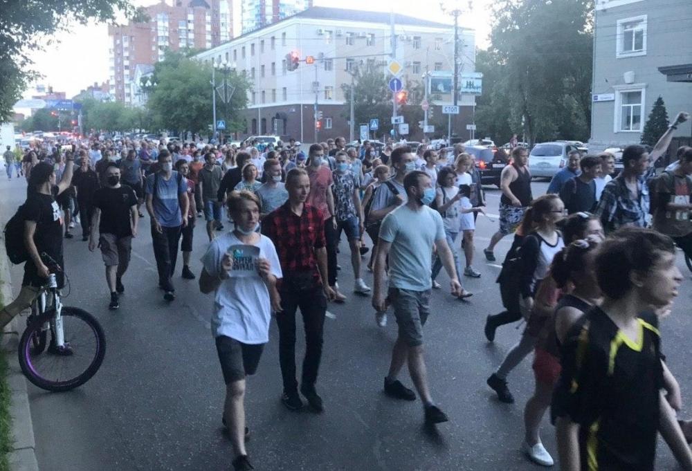 Фото: Twitter штаба Навального в Хабаровске