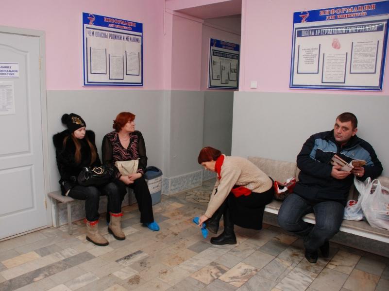 Поликлиника // фото: Александр Легкий / Global Look Press