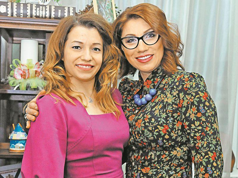 Роза Сябитова с дочерью // Фото: Мила Стриж