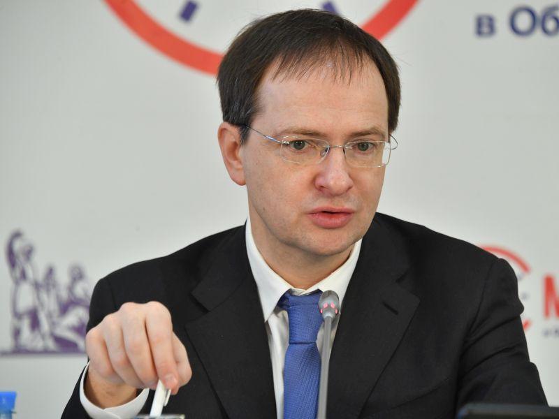 Министр культуры РФ Владимир Мединский // фото: Global Look Press