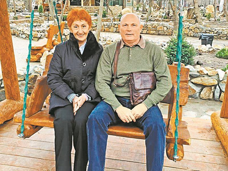 Геннадий Малахов с женой // фото со страницы в Facebook