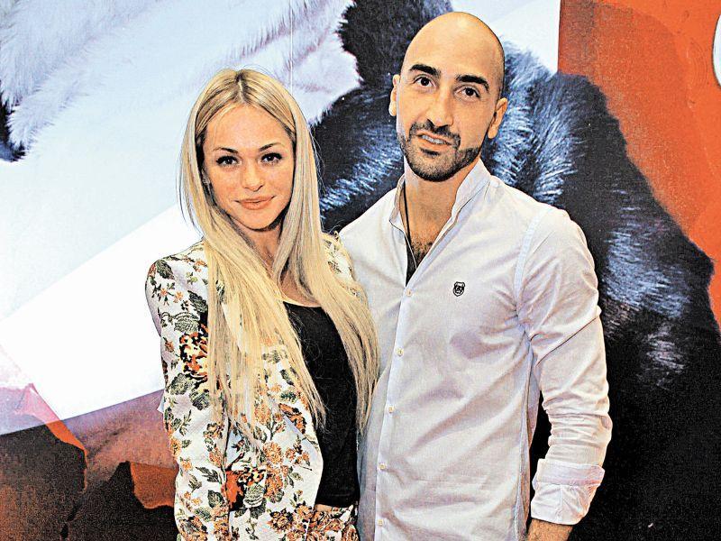 Анна Хилькевич с мужем // фото: Мила Стриж