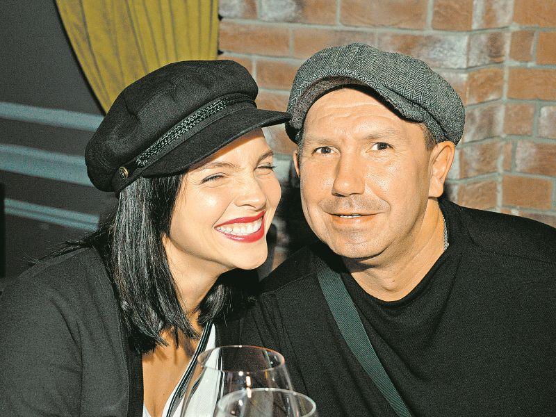 Сергей Кристовский с женой Натальей Земцовой // фото: Global Look Press
