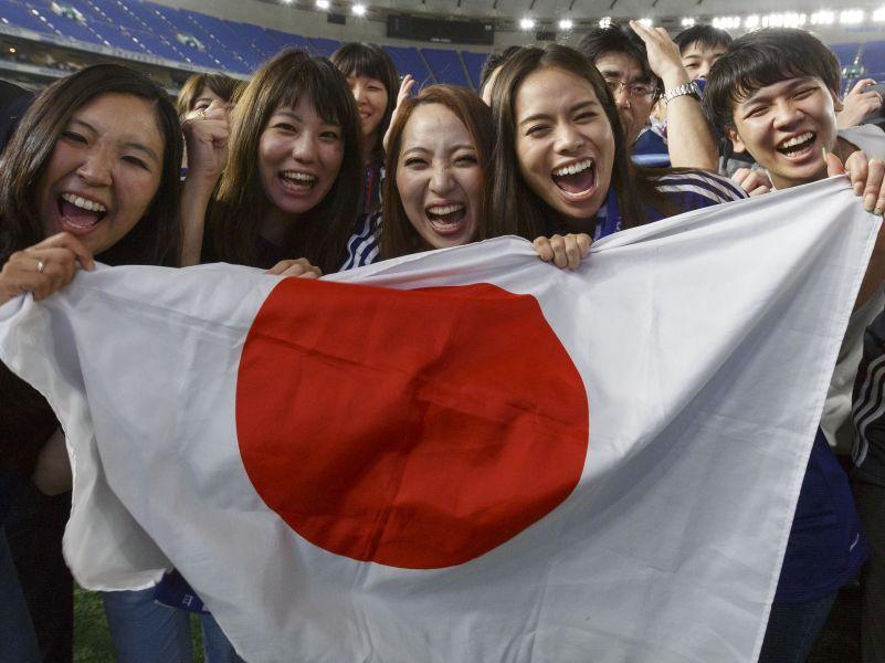 Болельщики сборной Японии // фото: Rodrigo Reyes Marin / AFLO / Global Look Press