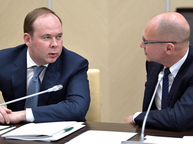 Антон Вайно и Сергей Кириенко // фото: Kremlin Pool / Global Look Press