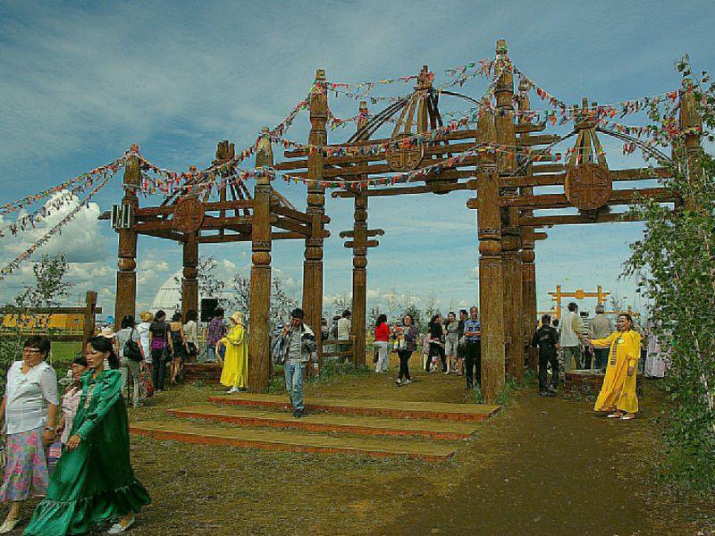Празднование Ысыаха в Якутии в 2010 году // фото: Сергей Городилов / Global Look Press