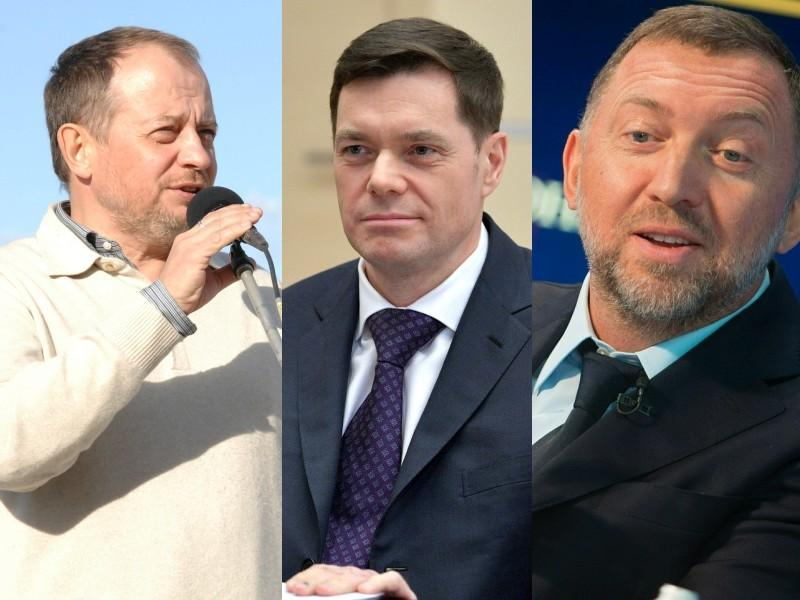Владимир Лисин; Алексей Мордашов; Олег Дерипаска // фото: Global Look Press