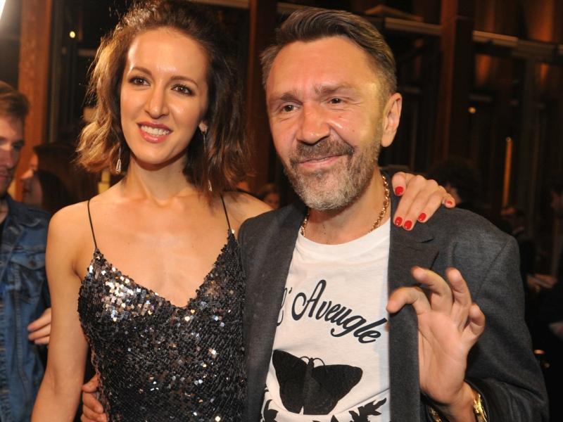 Сергей Шнуров с Матильдой, осень 2016 года // фото: Global Look Press