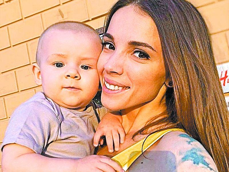 Лилия Соловьева c сыном // фото из Instagram героини публикации