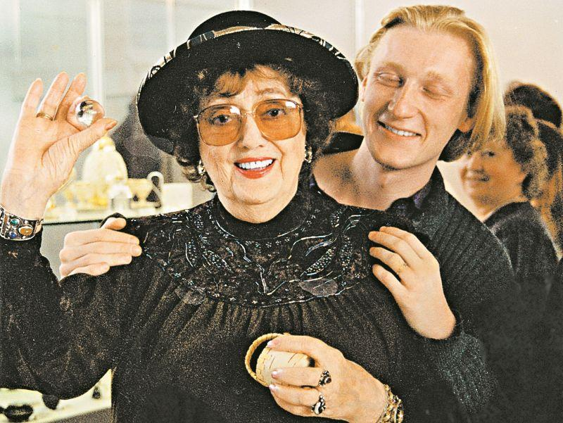 Алла Баянова и Олег Перанов // фото из личного архива автора