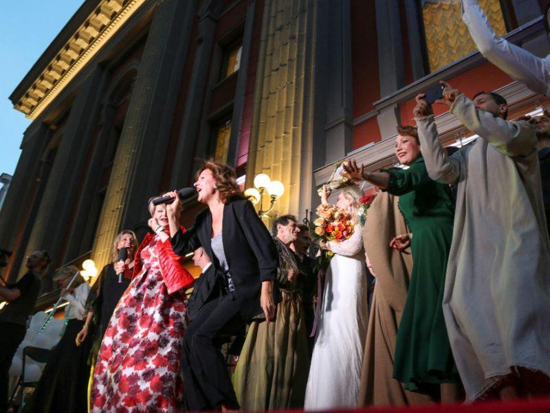 Концерт на Арбате // Фото: Андрей Струнин