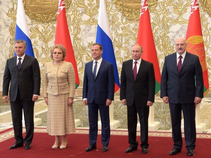 19 июня в Минск одномоментно направились с визитом сразу четыре высших должностных лица РФ  // фото: Kremlin Pool / Global Look Press
