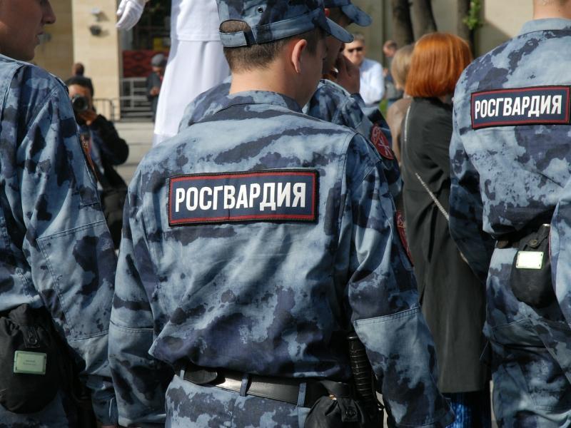 Сотрудники Росгвардии на патрулировании // фото: Сергей Ковалев / Global Look Press