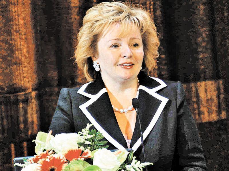 Людмила Очеретная – еще в бытность свою Путиной и второй леди России (2009 год) // фото: Global Look Press