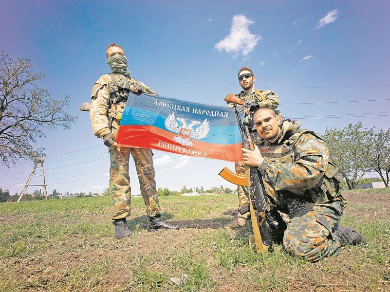 Сепаратистам Донбасса в войне с Киевом помогают деньги от нелегального в России бизнеса // фото: Global Look Press