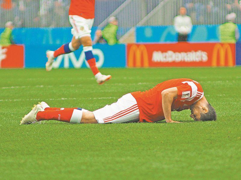 Алан Дзагоев в матче открытия ЧМ-2018 Россия – Саудовская Аравия (5:0) // фото: Global Look Press
