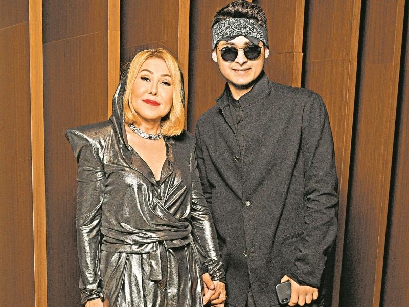 Успенская и CYGO // фото: пресс-служба Fashion People Award
