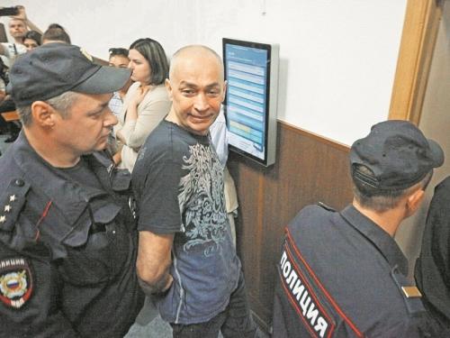 Александр Шестун в зале суда // фото: агентство «Москва»